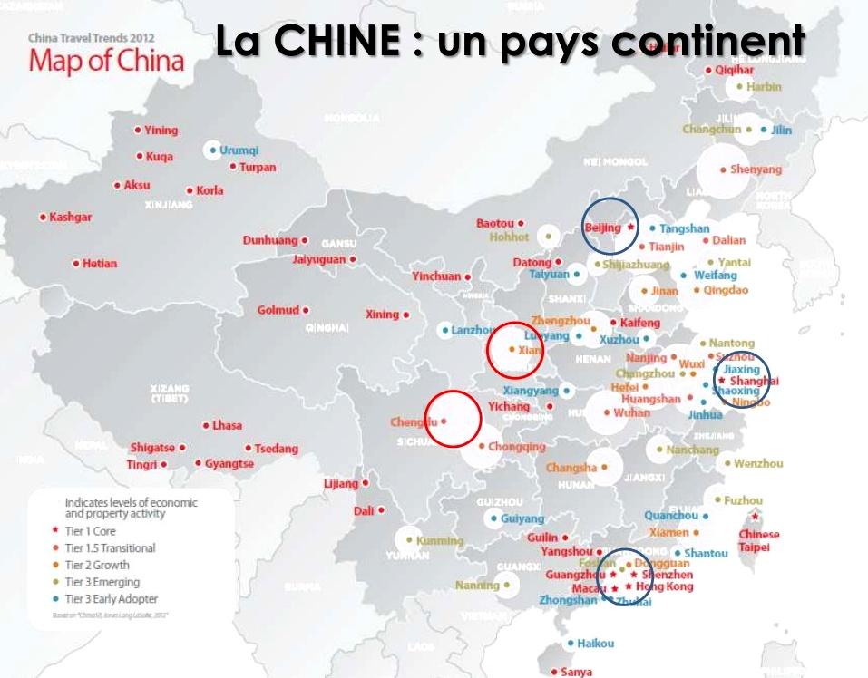 Carte Chine Hunan.La Chine Tourisme Culturel