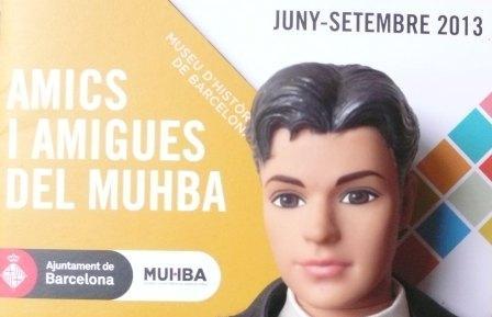 Ken au Musée d'Histoire de Barcelone!