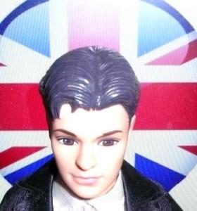 Ken et le drapeau anglais