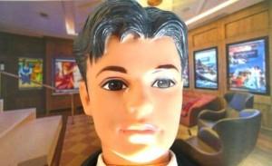 Selfie de Ken chez les Gougueules de Paris!