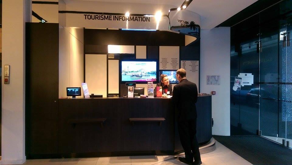 Corner Tourisme aux Galeries Lafayette