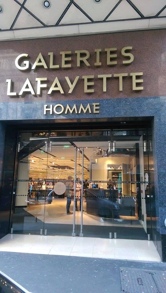 Entrée du Corner GL Paris