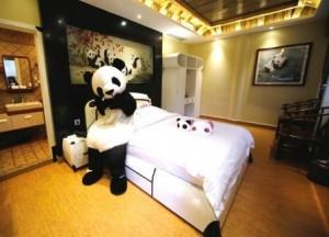 CHINA EMEI SICHUAN PANDA-THEMED HOTEL