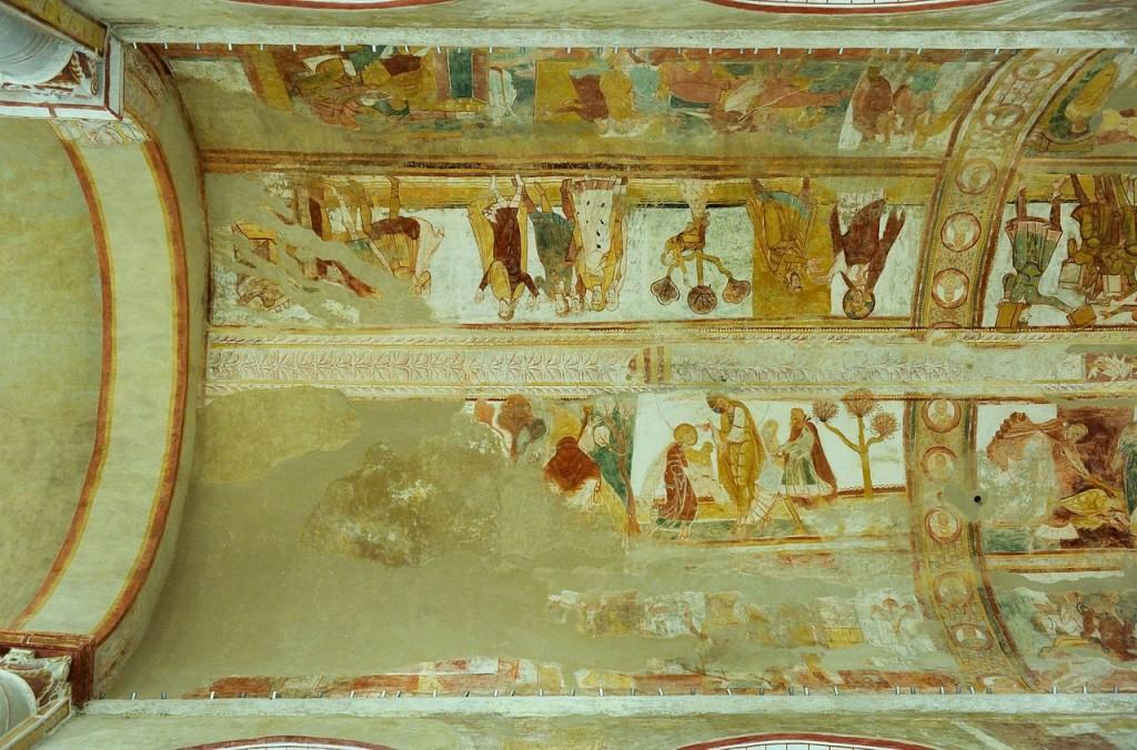1280px-Fresque_de_la_nef_de_l'Eglise_de_Saint-Savin_(Compartiment_A1_à_D2)_DSC_1685