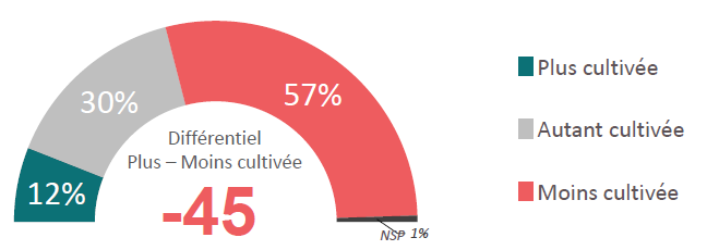4- Perception du niveau culturel