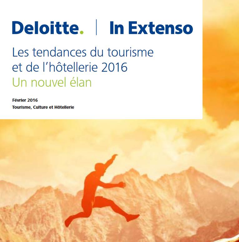 Couverture Deloitte Etude Hotellerie 2016