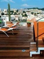 Vue sur Nice depuis le toit-terrasse du HI Hôtel
