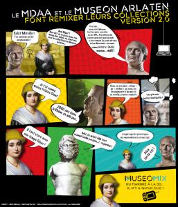 6_ Muséomix au Musée Arlaten (Affiche)