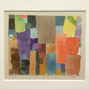 Paul Klee 1915 Expo Centre Pompidou 2016