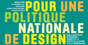 Pour une politique du Design