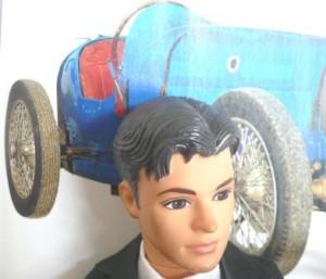 Ken et sa nouvelle Bugatti à pédales
