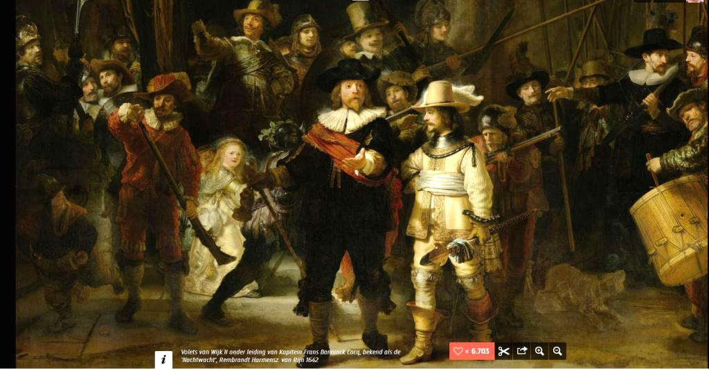 Rembrandt _ La Ronde de nuit
