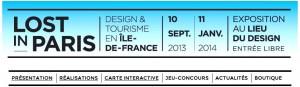 Bandeau Expo Lost in Paris