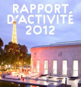 Palais Tokyo_Rapport activités 2012