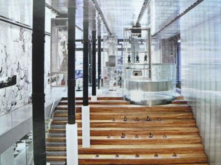Epicenter Prada à New-York (Architecte Rem Kholas).