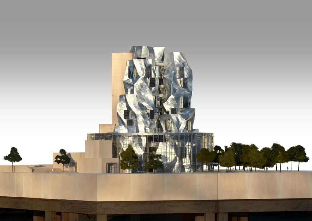 Le futur bâtiment de Franck Gehry (Journal Le Temps)
