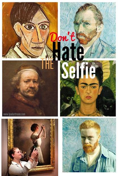 Dont hate the selfie