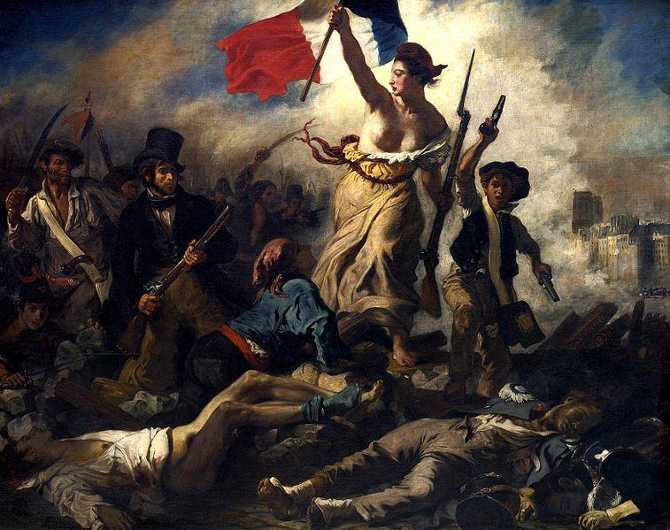 la Liberté guidant le peuple Eugène Delacroix c commons Wikimedia Perse