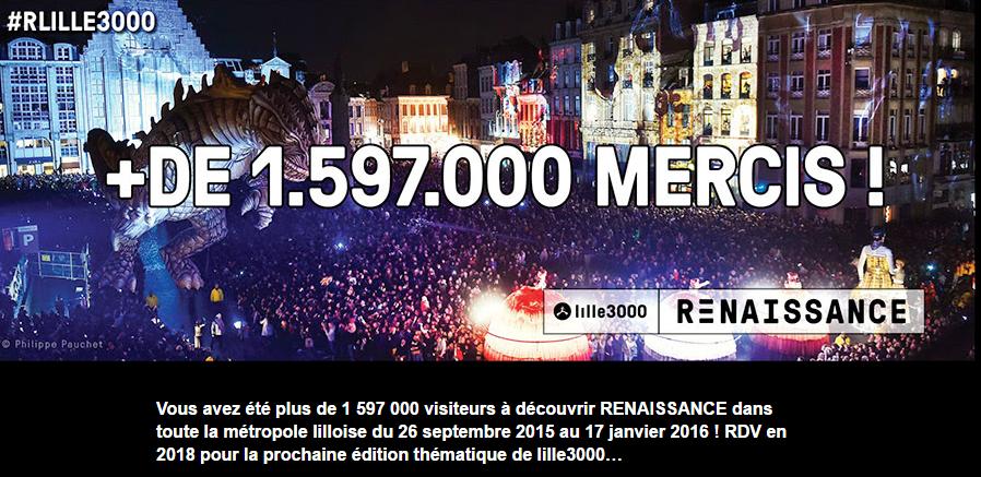 Lille 3000 Renaissance