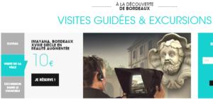 Bordeaux visite réalité augmentée