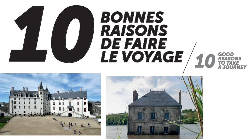 10 bonnes raisons de faire le Voyage à Nantes